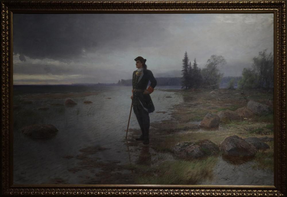 Лагорио Л.Ф. На берегу пустынных волн. 1897