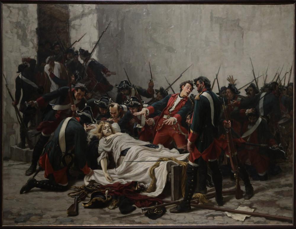Творожников И.И. Поручик Василий Мирович у тела Иоанна Антоновича 5 июля 1764 года в Шлиссельбургской крепости. 1884