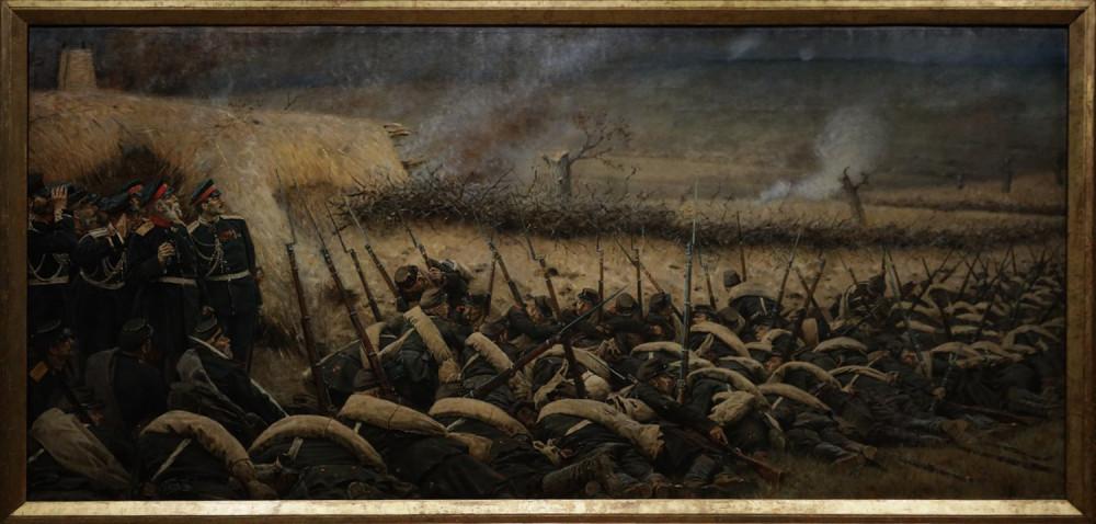 Верещагин В.В. Перед атакой. Под Плевной. 1881