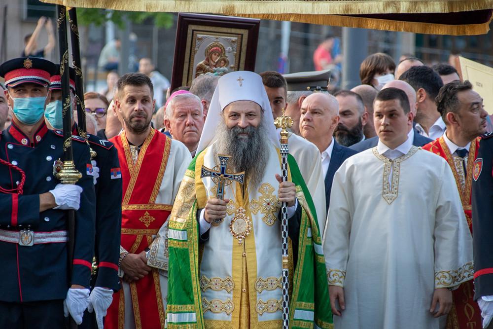 Ο Αγιώτατος Πατριάρχης Σερβίας κ.Πορφύριος