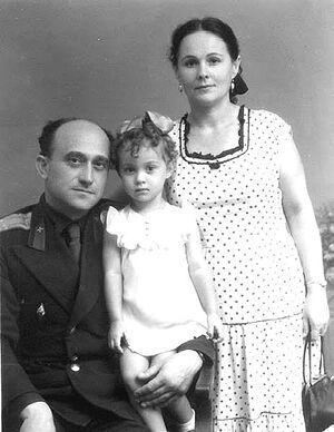 Με τους γονείς