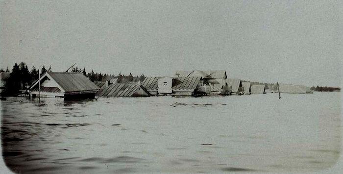 Кама разлилась в мае 1914 г.