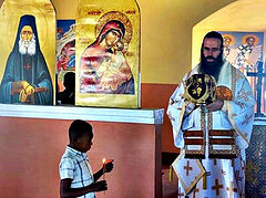 Church of St. Joseph the Hesychast consecrated at Madagascar monastery