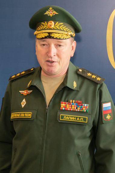 Генерал-полковник Александр Павлович Лапин