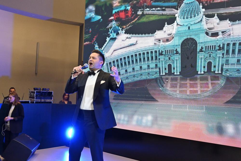 Выступление Сергея Волчкова