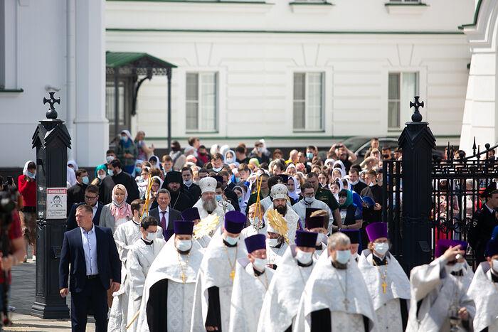 From the procession in Rostov-on-Don. Photo: rostoveparhia.ru