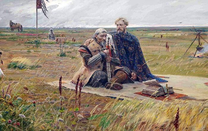 Сартак. Павел Рыженко. Часть триптиха Солнце земли Русской». 2008–2009