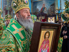 Metropolitan Onuphry celebrates glorification of saints of Alexandria Diocese (+VIDEO)