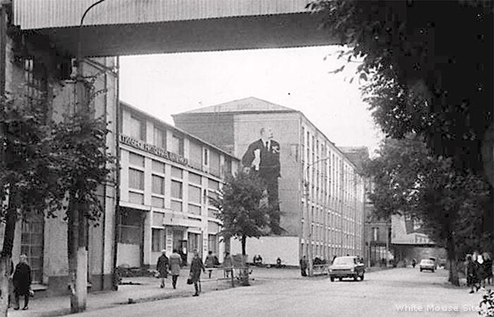 Орехово-Зуjево. Фабрика. 1970-те