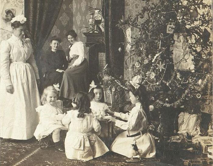 Рождество в царской России