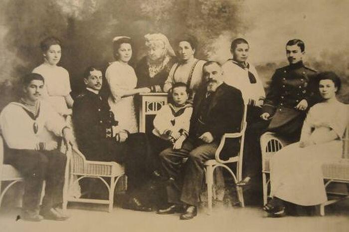 Семья Абаза перед Первой мировой войной