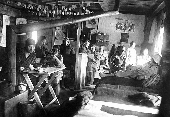 Женский лагерь