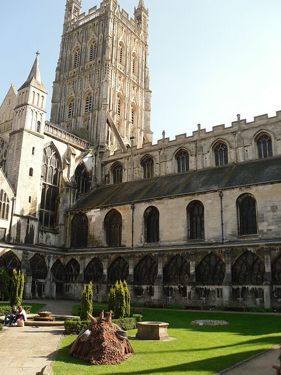 Gloucester Cathedral, Gloucestershire (photo by Irina Lapa)