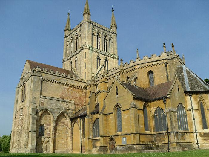 Pershore Abbey, Worcestershire (photo by Irina Lapa)