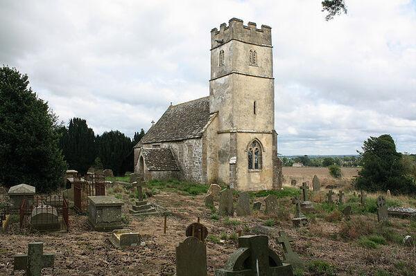 St. Arilda's redundant Church in Oldbury-on-the-Hill, Glos