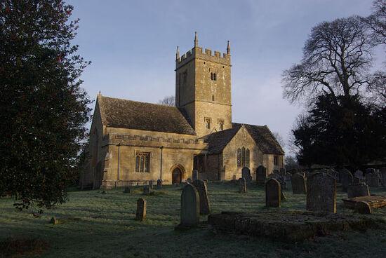 St. Eadburgha's Church in Broadway, Worcs (photo by Stephen McKay, Geograph.org.uk)