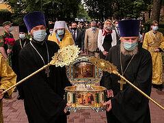 В Смоленск принесены мощи благоверного князя Александра Невского