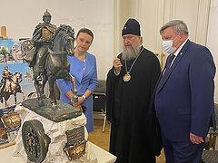 Состоялась презентация проектов памятника святому Александру Невскому, который будет установлен в Алма-Ате