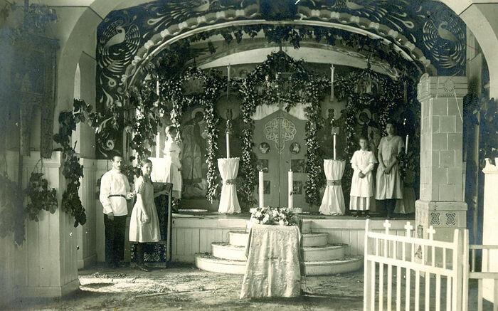 Храм при Мариинском Донском инстиуте благородных девиц