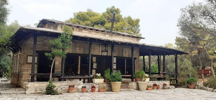 Афинский храм Св. Димитрия Солунского (вблизи Акрополя), где служил св. Рафаил