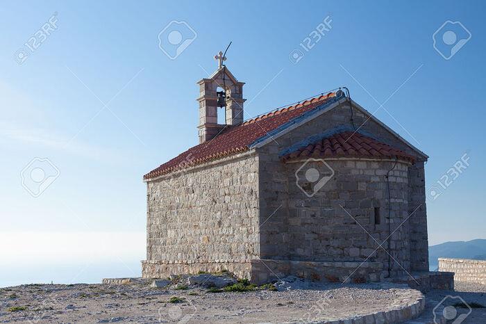 St. Stephen Church on Sveti Stefan Island-resort. Photo: previews.123rf.com