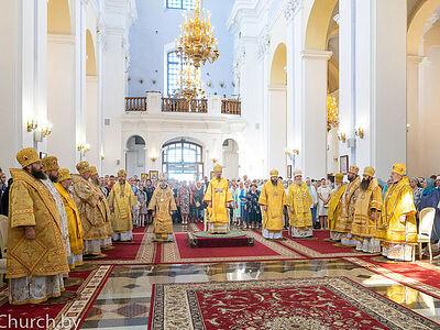 В Витебске состоялись торжества, посвященные 800-летию со дня рождения святого благоверного князя Александра Невского