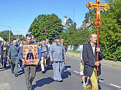 Belarusian faithful set off on month-long procession for 800th anniversary of St. Alexander Nevsky