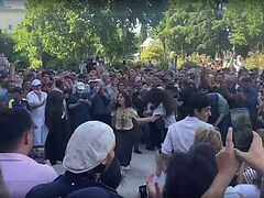 VIDEO: Georgians festively celebrate cancelation of LGBT march