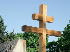 Orthodox crosses returned to Czech cemetery after 40 years