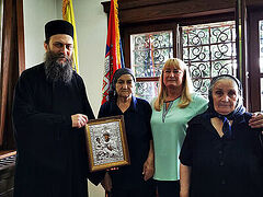 Athonite Hilandar Monastery financially supports women whose families were slaughtered in Kosovo
