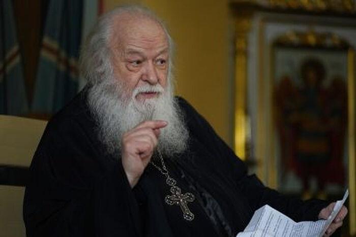 Протоиерей Валериан Кречетов. Фото священника Игоря Палкина.
