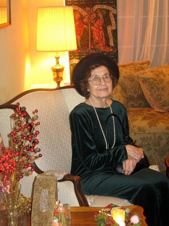 Мама, Евгения Олеговна Исаева, в замужестве Пафнутьева