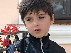 Little boy healed by relics of Romanian holy hierarch