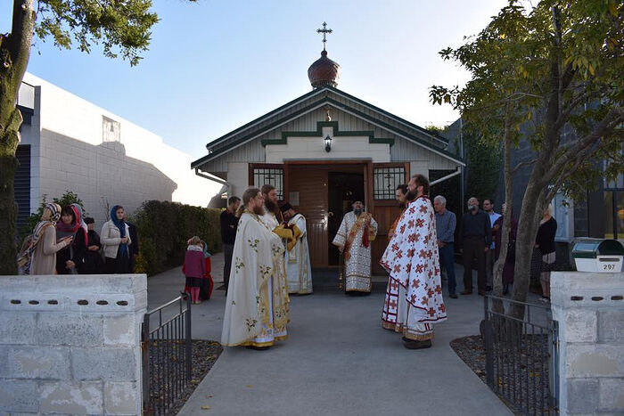 The Consecration of the Church of St. Nicholas, Christchurch