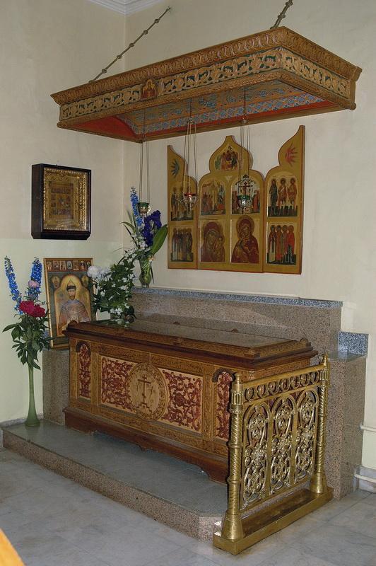 Relics of St. Nektary