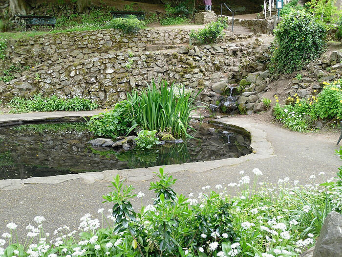 St. Ann's Well in Great Malvern, Worcs (photo by Irina Lapa)