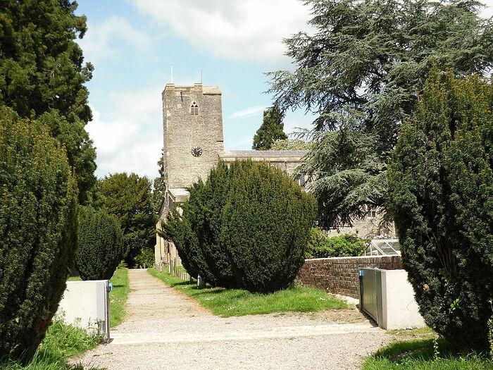 St. Mary's Priory Church in Deerhurst, Glos (photo by Irina Lapa)