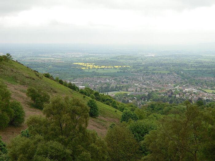 The stunning Malvern Hills, Worcs (photo by Irina Lapa)