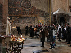 """Georgian media outraged over """"Russian"""" Liturgy, unaware it was Ukrainians serving in Slavonic (+VIDEO)"""