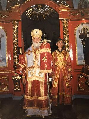 Владыка в день 70-летнего юбилея. Ставрополь, кафедральный Андреевский собор