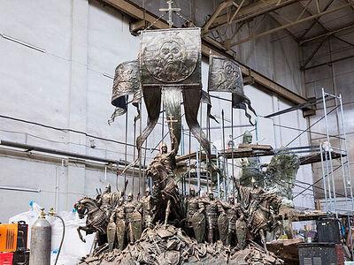 Памятник Александру Невскому и дружине откроют на берегу Чудского озера осенью