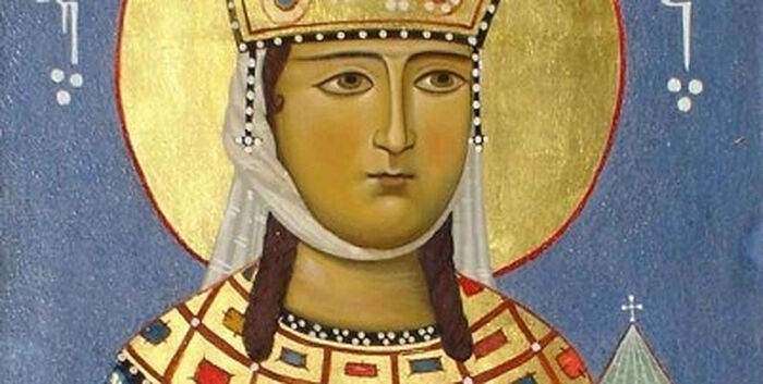 St. Tamar is among those whose image was blasphemously used on condom packaging. Photo: pravoslavie.ru