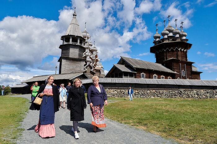Церковь Преображения Господня Кижского архитектурного ансамбля открыта после реставрации