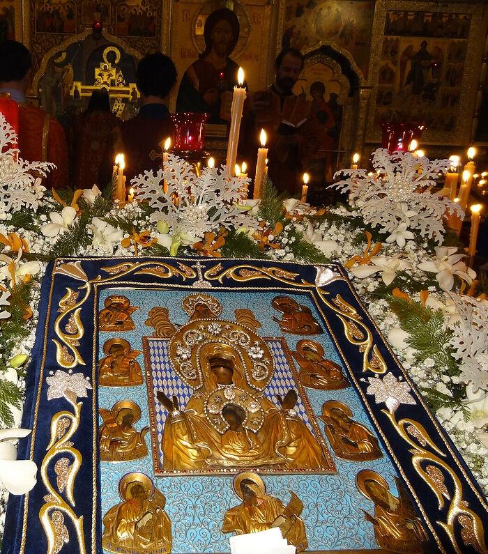Курская-Коренная икона Божьей Матери