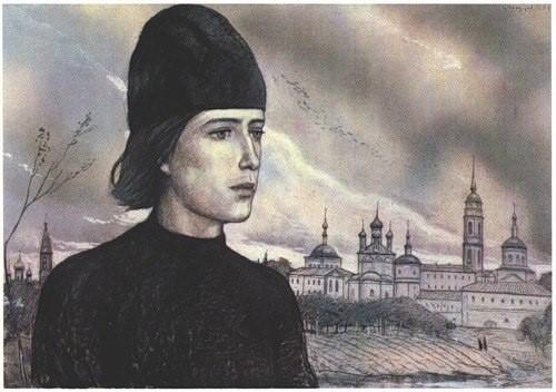 Илья Глазунов. Алеша Карамазов – любимый герой Достоевского. Его надежда на будущее России и мира.