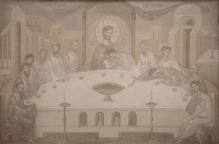 Роспись храма Вифлеемских младенцев в Барнауле
