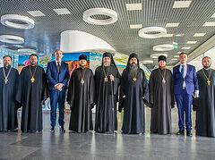 Antiochian, Serbian, Czech-Slovak Churches join Ukrainian Church for Baptism of Rus' procession