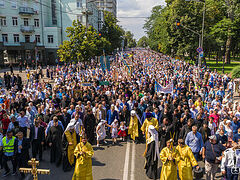 Baptism of Rus' procession draws hundreds of thousands faithful Ukrainians (+VIDEO)