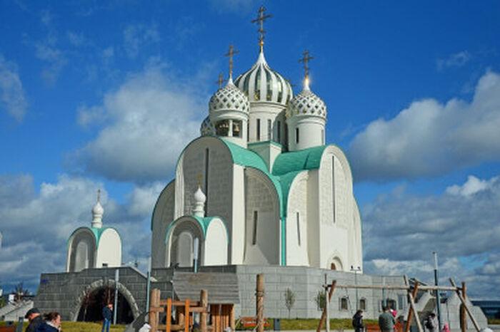 Николо-Андреевский храм в Павшинской пойме, Красногорск, Подмосковье