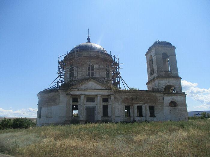Храм Воскресения Христова в Ахмате